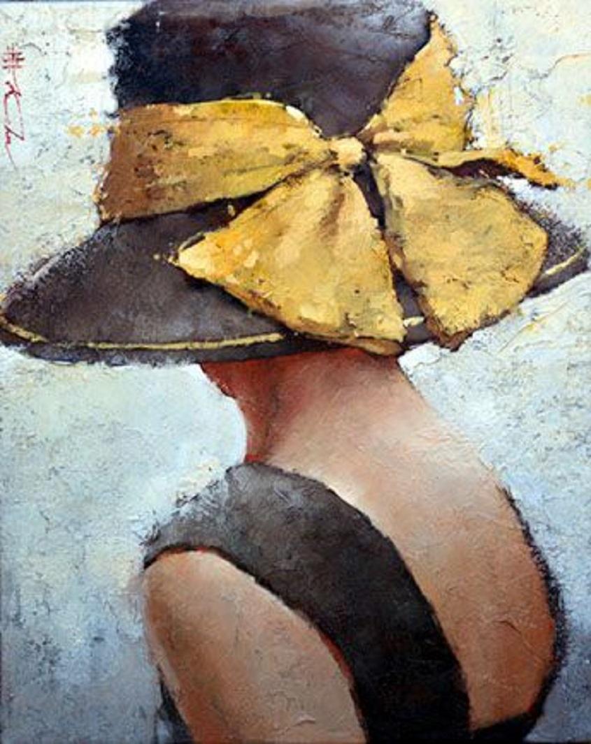Nő kalapban - Andre Kohn